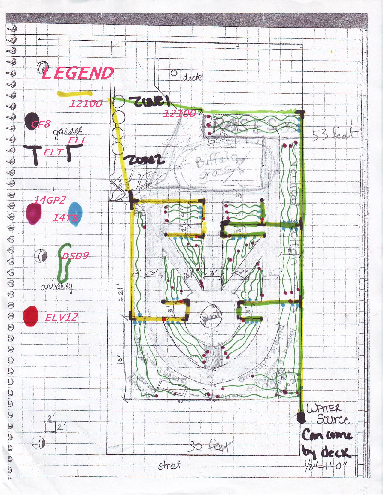 Flower garden plans zone 6 pdf for Garden design plans zone 6